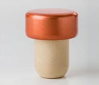 Professional Quality Aluminium Synthetic Corks Copper (25s)